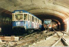 Transport Public, New York Central Railroad, Paris Metro, Trains, Urban Exploration, Bastille, Land Art, Abandoned Places, France