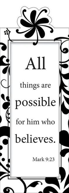 when i count on jesus all things are possible