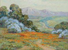 ANTONY E. ANDERSON - plein air painting
