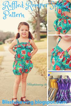 12166b8ef83b 10 Free Romper Patterns for Girls