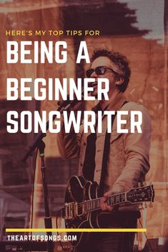 Does it suck being a beginner songwriter? It always feels like it's taking too long to write songs. In this post i'll help you to overcome this feeling. Vocal Lessons, Music Lessons, Guitar Lessons, Learn Singing, Singing Tips, Audio Mastering, Singing Techniques, Writing Lyrics, Music Software