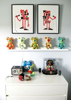 When it comes to displaying collections no one quite takes the job as seriously as the residents of this house. What started as a passion and a hobby of collecting vinyl toys and artwork from artists around the world has turned into a way of life for these folks in The Heartland.