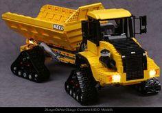 2LegoOrNot2Lego's Bell B30D Articulated Dump Truck (ADT) - LEGO ...