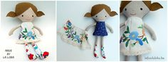 dress up doll, la loba, doll, ethno doll, large ragdoll