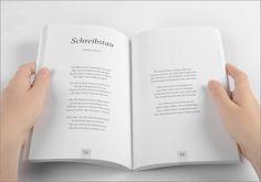 in flagranti design: Buchgestaltung_2014 Editorial Design, Writing, Books, Editorial Layout