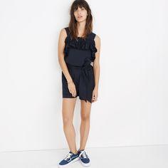 Karen Walker® Rosalie Ruffled Romper : jumpsuits | Madewell