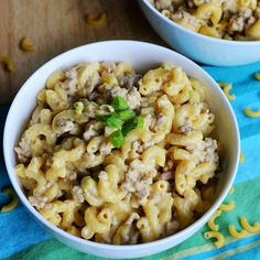 Homemade Cheeseburger Helper is delicious and quick to get on the dinner table on those nights when you need something easy.