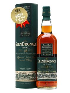 Glendronach 15 Year Old Revival / Sherry Cask Scotch Whisky : The Whisky Exchange