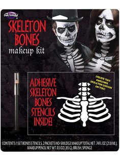 Check out Bones Make Up Kit from Wholesale Halloween Costumes