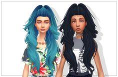 Sims 4 CC's - The Best: Clarity Hair by Sul Sul