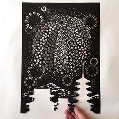 papercutting http://www.beautifullife.info/art-works/intricately-detailed-papercut-designs-by-riu/
