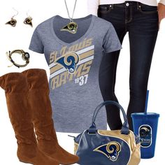 St. Louis Rams Fashion - Trendy Chill Rams Fan