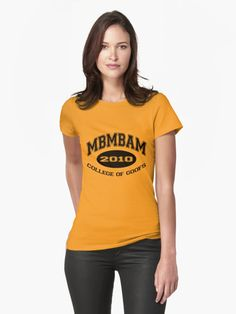 MBMBAM College of Goofs Womens T-Shirt