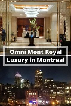 Great anniversary weekend, girls weekend or treat yourself! Luxury in Montreal, Canada at Omni Mont Royal!