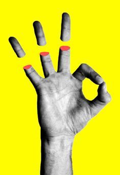 Psychedelic / Portraits / Tyler Spangler / Hands / Yellow / Peps / Colors / Photographie / Collage *I like the surreal feeling this image gives off, as well as the simplistic and neon colors around it. Art Du Collage, Digital Collage, Love Collage, Digital Art, Collages, Design Graphique, Art Graphique, Art Pop, Photomontage
