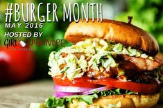 54 Epic Burgers For #BurgerMonth2016