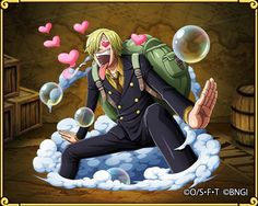 A little bit of straw of Sanji gathered