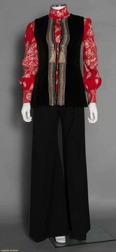 Thea Porter Bell Bottom Outfit, 1970s, Augusta Auctions, November 12, 2014