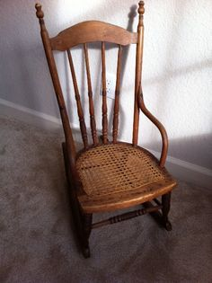 Child's Rocking Chair Cira Mid 1800'S TO 1900 by schellercreations  225.00