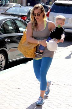 Hilary Duff & Luca i freackin love hilary duff! she's so well rounded