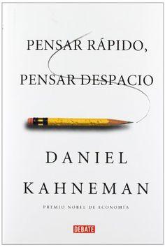 Pensar rápido, pensar despacio (DEBATE): Amazon.es: DANIEL KAHNEMAN, CHAMORRO MIELKE JOAQUIN;: Libros