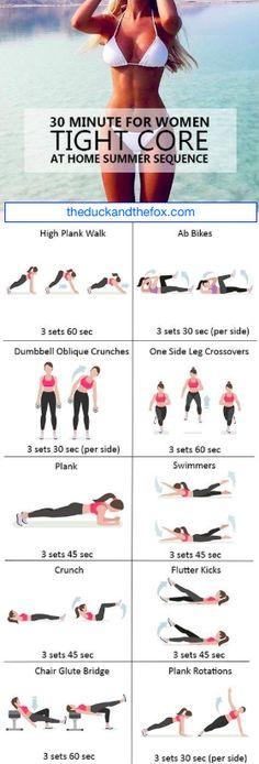 Tight Core Fat Burner Hot Summer Sequence to Destroy Belly Fat! These Results are Crazy! – The Duck & The Fox