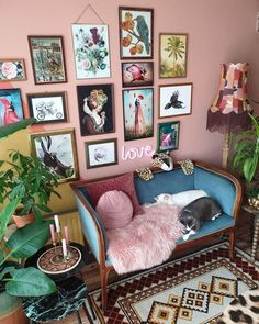 INTERIEUR Bib Arbeitszimmer New stylish bohemian home decor and design ideas How To Build With Cobb Target Home Decor, Retro Home Decor, Cheap Home Decor, Vintage Decor, Decorate Your Room, Home And Deco, Eclectic Decor, Eclectic Gallery Wall, Eclectic Style