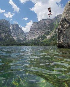 Phelps Lake, Wyoming                                                                                                                                                                                 More