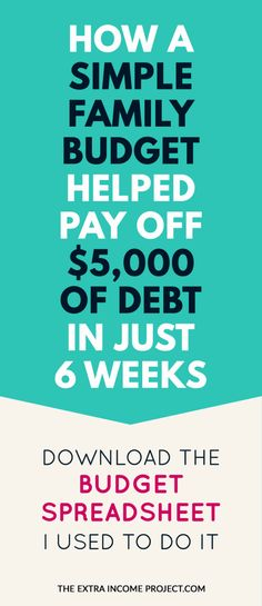 How does a budget change after paying off debt or a mortgage? We\u0027ve