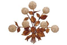 Italian Hydrangea Light Sconce on OneKingsLane.com