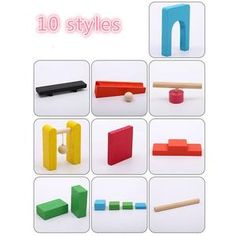 120 Pcs/set Wooden Domino Institution Accessories Organ Blocks Rainbow Jigsaw Dominoes Montessori Educational Toys for Children Rainbow Wood, Montessori Toys, Brain Teasers, Early Learning, Educational Toys, Wooden Toys, Kids Toys, Children, Creative