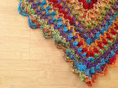 Image_small2 Bohemian Rug, Shawl, Crochet Necklace, Triangle, Tropical, Rugs, Projects, Image, Decor