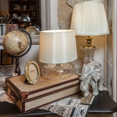Transform your office work into a hobby by placing an Elegant-Elephant lamp near you!