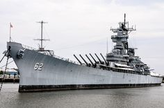 USS New Jersey (BB-62) US Navy Battleship at the Battleship New Jersey Museum and Memorial Camden NJ