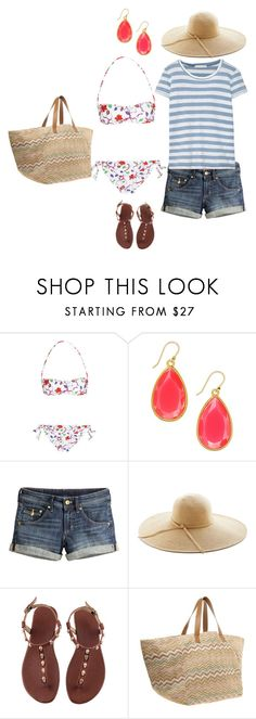 """""""Sin título #177"""" by adelprado ❤ liked on Polyvore featuring Emilio Pucci, Kate Spade, H&M, River Island and Kain"""