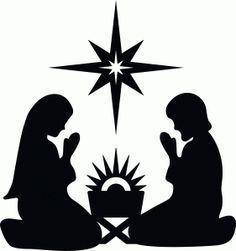 Nativity with star – Maisa Keila Braga Nativity with star Silhueta Design Store – Ver design # natividade com a estrela Nativity Crafts, Christmas Nativity, Christmas Art, Christmas Projects, All Things Christmas, Holiday Crafts, Christmas Holidays, Christmas Decorations, Christmas Ornaments