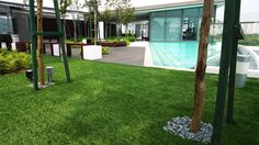 An astonishing result we created with artificial grass. #artificialgrass #green #Eco #lawn #gardening #design #turf