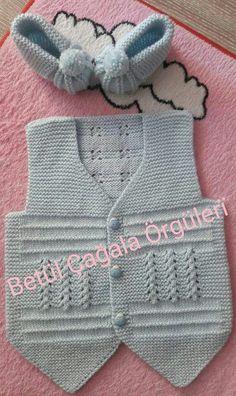 Knit Baby Boy Sweater Making - Crochet - It's a Girl Baby Cardigan, Baby Boy Sweater, Baby Pullover, Baby Boy Outfits, Kids Outfits, Baby Boys, Crochet Baby Jacket, Boys Sweaters, Sweater Making