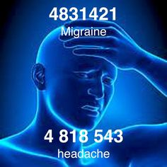 Grabovoi Code for Headache & Migraine. Headache Cure, Healing Codes, Switch Words, Reiki Symbols, Visualisation, Spiritual Messages, Magic Words, Chakra Healing, Knowledge
