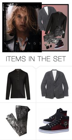 """""""Slightly Hot Viking Guy...Right?"""" by kbarkstyle ❤ liked on Polyvore featuring art"""