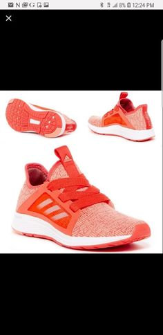 a32788df2981 Extra Off Coupon So Cheap NIB womens 10 Adidas Edge Lux Running Shoes -  Orange