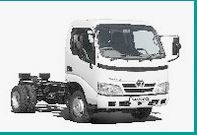 The Toyota Dyna is a small truck decline in two versions: the Dyna 100 and the Dyna 150 chassis chassis, the latter being characterized by its twin wheels, its gross weight of 3.5 t (3 t on the Dyna 100) and its wheelbase 2545 mm (2300 mm on the Dyna 100). Both models are powered by a single block, the 3-liter D-4D 109 hp, comes on the market thanks to Euro 4.   #Allmakes #Test #Toyota
