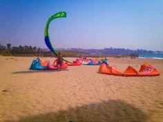 Launching kite