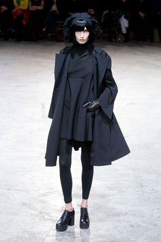 Yohji Yamamoto A/W '13 Paris FW  #Japan #fashion #JapaneseFashion
