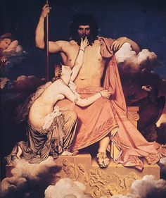 Jupiter or Jove is the king of the Roman gods and the god of sky and thunder (equivalent to Greek god Zeus)
