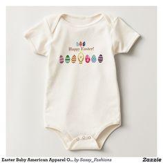 Easter Baby American Apparel Organic Bodysuit