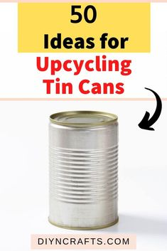 50 Jaw-Dropping Ideas for Upcycling Tin Cans Into Beautiful Household Items!Here are - Diy and crafts interests Aluminum Can Crafts, Tin Can Crafts, Crafts With Tin Cans, Diy Projects Using Tin Cans, Recycling Projects, Art Projects, Recycle Cans, Diy Cans, Tin Can Lanterns