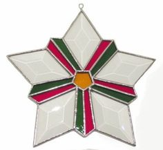 Star by STAINED GLASS by GAIL