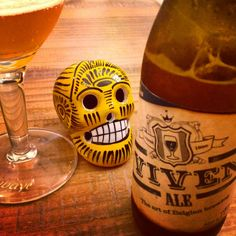 Viven Ale - Belgium Pale Ale beer with fruit smell , citrus taste , a bit of honey and apple.