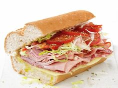 Turn your kitchen into a sandwich shop with these classic Italian Subs.